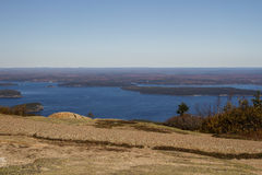 Acadia National Park in Bar Harbor, USA, 2015 Royalty Free Stock Images