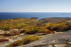 Acadia National Park in Bar Harbor, USA, 2015 Royalty Free Stock Image