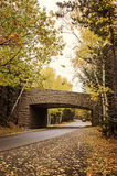 Acadia National Park bridge Stock Photos