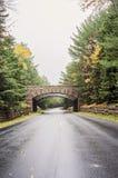 Acadia National Park bridge Royalty Free Stock Photos