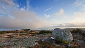 Acadia National Park, Cadillac mountain Royalty Free Stock Photography