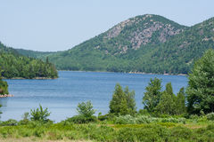 Acadia National Park. Jordan Pond, in Acadia National Park, Maine, USA stock photos