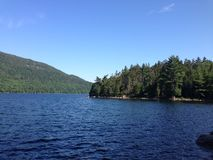 Acadia National Park Lake. Another view of a beautiful lake in Acadia National Park Stock Photography
