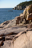 Acadia National Park in New England Royalty Free Stock Images