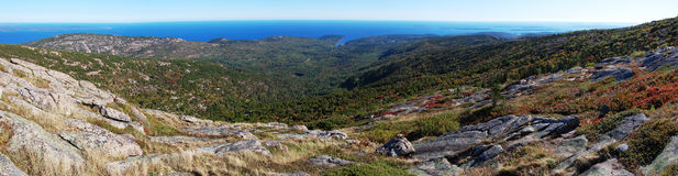 Acadia National Park panorama Stock Photos