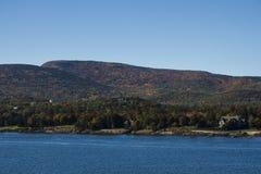 Acadia-Nationalpark im Stangen-Hafen, USA, 2015 Lizenzfreies Stockbild