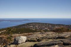 Acadia-Nationalpark im Stangen-Hafen, USA, 2015 Lizenzfreie Stockfotos