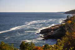 Acadia-Nationalpark im Stangen-Hafen, USA, 2015 Stockfotografie