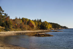 Acadia-Nationalpark im Stangen-Hafen, USA, 2015 Lizenzfreies Stockfoto