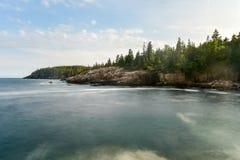 Acadia-Nationalpark-Küste Lizenzfreie Stockfotografie