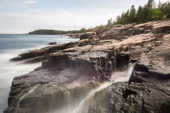 Acadia-Nationalpark-Küste Lizenzfreies Stockfoto