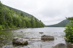 Acadia-Nationalpark in Maine Stockfoto