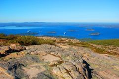 Acadia-Nationalpark, Maine, USA Lizenzfreie Stockfotos