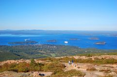 Acadia-Nationalpark, Maine, USA Stockbild