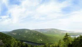 Acadia-Nationalpark Mountain View Stockbilder
