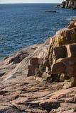 Acadia-Nationalpark in Neu-England Stockfotos