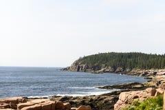 Acadia-Nationalpark - Otter-Klippe Lizenzfreies Stockbild
