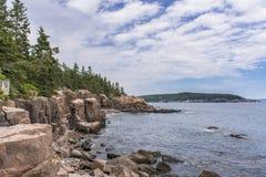 Acadia-Nationalpark - Ozean-Weg Stockbilder