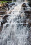Acadia-Nationalpark-Wasserfall Stockbild