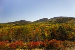 Acadia park narodowy w Prętowym schronieniu, usa, 2015 obrazy royalty free