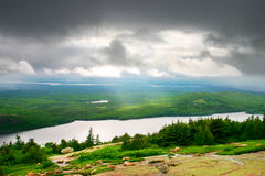 acadiamaine nationalpark Royaltyfria Bilder