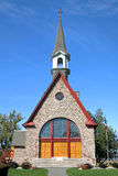 Acadian church Stock Images
