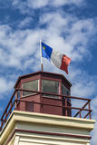 Acadian Flag Stock Photo