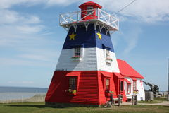 Acadian Lighthouse Royalty Free Stock Images