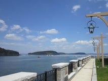 Acadian nationalpark för stånghamn Arkivfoto