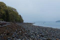 Acadian woda i nieba Fotografia Stock