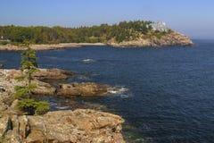 Acadianationalpark Arkivfoton