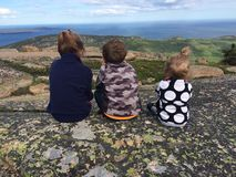 Acadianationalpark Royaltyfri Foto