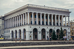 Académie de musique à Kiev Images stock