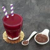 Acai Berry Health Fruit Drink Lizenzfreie Stockfotografie