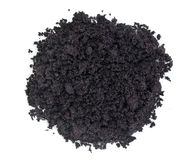 Acai berry powder Royalty Free Stock Photo