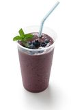 Acai berry smoothie Royalty Free Stock Image