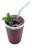 Acai berry smoothie Stock Image