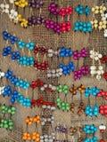 Acai bijou. Jewelry made with acai seed (Euterpe oleracea) - Amazonia - Brazil Royalty Free Stock Photo