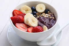 Acai bowl Royalty Free Stock Photos