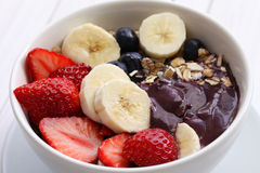 Acai bowl stock image