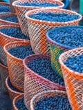 Acai en cestas Imagen de archivo