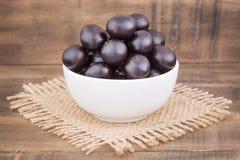 Acai fruit - Euterpe oleracea Stock Images