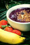 Acai in the pot Stock Photo