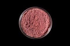 Acai powder bowl Stock Images