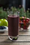 Acai smoothie Royalty Free Stock Images