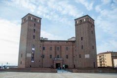 Acaja,福萨诺,山麓-意大利的城堡原则 库存图片