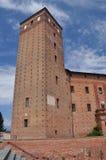 Acaja-Schloss, Fossano, Provinz von Cuneo, Italien Stockfotos