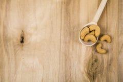 Acajoubaum in einem Löffel Stockfotos
