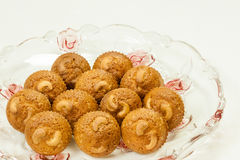 Acajoubaum-kleine Kuchen Stockfoto