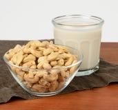 Acajoubaum-Milch Stockfoto